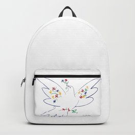Pablo Picasso Dove Of Peace 1949 Artwork Shirt, Reproduction Backpack