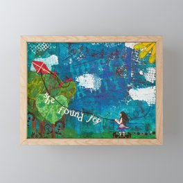 Go Fly A Kite Framed Mini Art Print