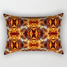 Fractal Art - Fire Pattern I Rectangular Pillow