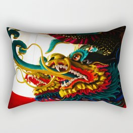 Dragons in Chiang Mai Rectangular Pillow