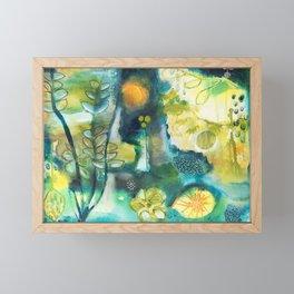 Cracks III - Where the light gets in Framed Mini Art Print