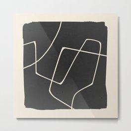 Minimal Abstract Art 25 Metal Print