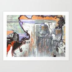 Space Voyage Art Print