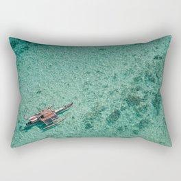 Outrigger in Hawaii Rectangular Pillow