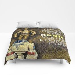 C3P0 R2D2 Comforters