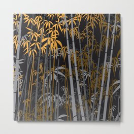 Bamboo 5 Metal Print