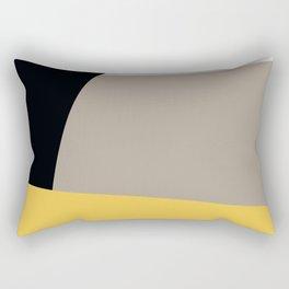 Mid Century Minimal 5 Rectangular Pillow