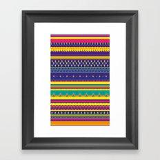 miercoles Framed Art Print