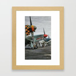 Fly Away to the Sky Framed Art Print