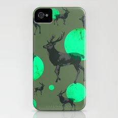 Dear deers - color option iPhone (4, 4s) Slim Case