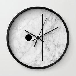 Marble Fun Wall Clock