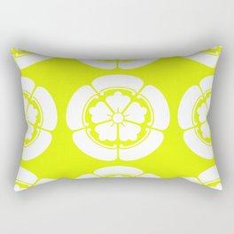 Samurai-Oda family Crest version2 Rectangular Pillow