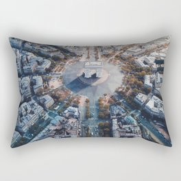Arc De Triomphe, Paris Rectangular Pillow