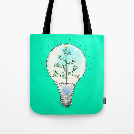 Christmas lamp Tote Bag