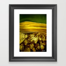 Hidden Landscape Framed Art Print