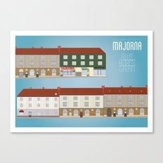 Älvsborgsgatan - The people's republic of Majorna Canvas Print