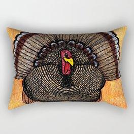 Tough Turkey Rectangular Pillow