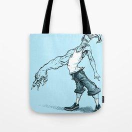 Demon Arm Tote Bag