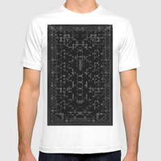 Divide MEDIUM Mens Fitted Tee White