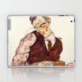 "Egon Schiele ""Lovers"" Laptop & iPad Skin"
