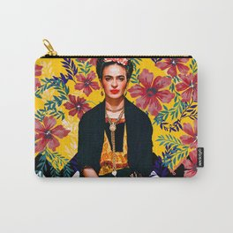 Frida Tropical Carry-All Pouch
