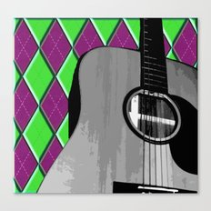 Acoustic #2 Canvas Print