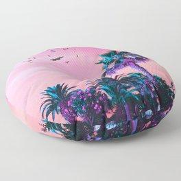 Pinktones Beach DR. Floor Pillow