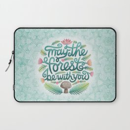 May the Forest Be With You Laptop Sleeve