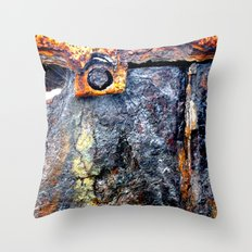 meEtIng wiTh IrOn no.24 Throw Pillow