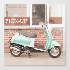 A Sweeter Ride Canvas Print