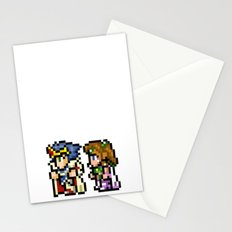 Final Fantasy II - Cecil and Rosa Stationery Cards