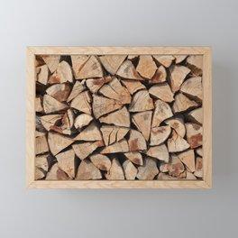 Stock for winter Framed Mini Art Print