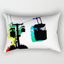 Amusement Park Sky Ride Rectangular Pillow