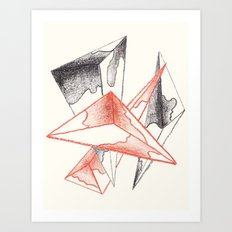 CRAYON LOVE: Monarchs Art Print