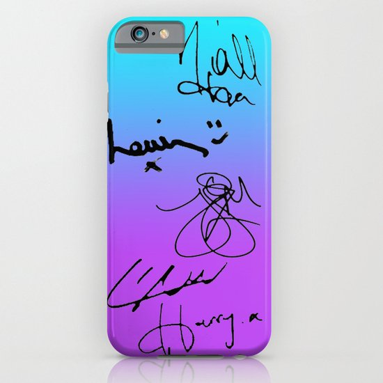 One Direction Signatures iPhone & iPod Case