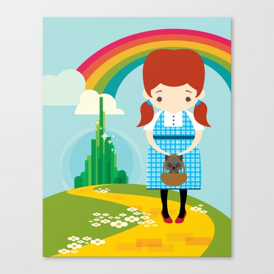 Dorothy Wizard of Oz Canvas Print