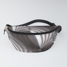 Push and squeeze with misty stripes Fanny Pack