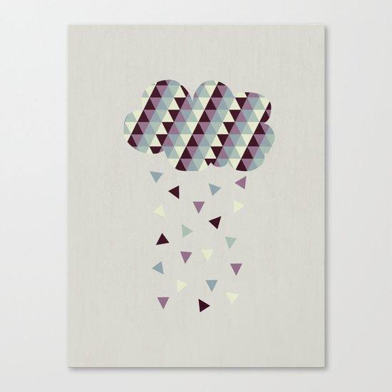 Raining Pleasure Canvas Print