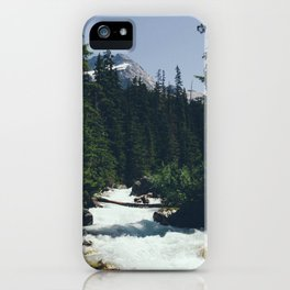 Mountains and Rivers iPhone Case