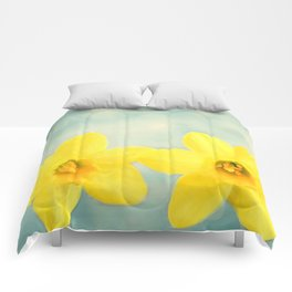 Spring Yellow Comforters