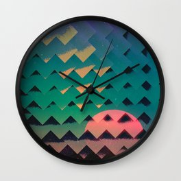 Stagecraft Wall Clock