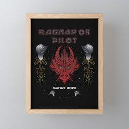 FFVIII - Ragnarok Pilot Framed Mini Art Print