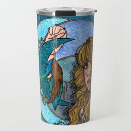 Turquoise Moon Travel Mug