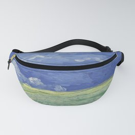 Wheatfield under Thunderclouds Fanny Pack