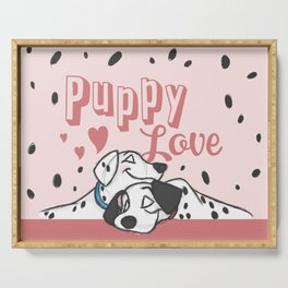 Puppy Love Serving Tray