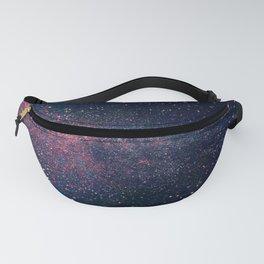 Navy Blue Galaxy Fanny Pack