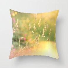 A Field Far Far Away Throw Pillow