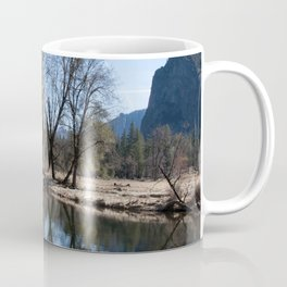 Mountain Reflection in the Merced River Coffee Mug