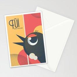 Tui Bird New Zealand Stationery Cards