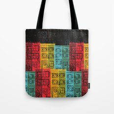 Rows of Houses  Tote Bag
